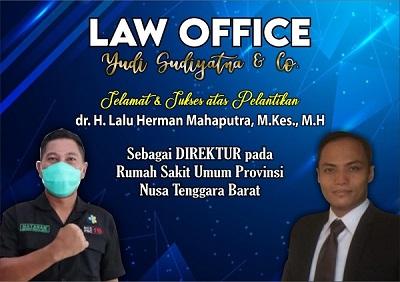 dr. H. Lalu Herman Mahaputra, M.Kes., M.H